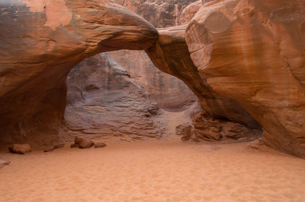 Sand Dune Arch