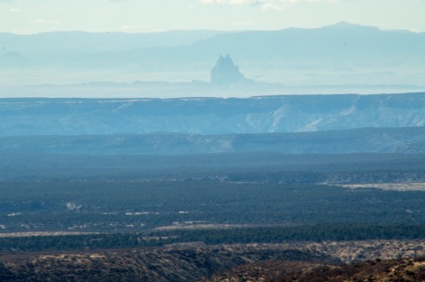 The shiprock