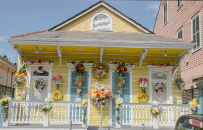 This house was a celebration of spring