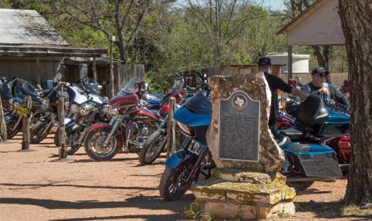 A popular biker destination